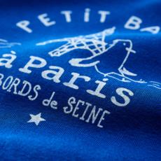 Petit bateau Tshirt manches longues - bleu surf -