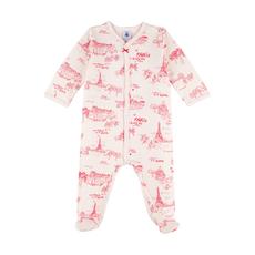 Petit bateau Pyjama - toile de jouy de Paris -