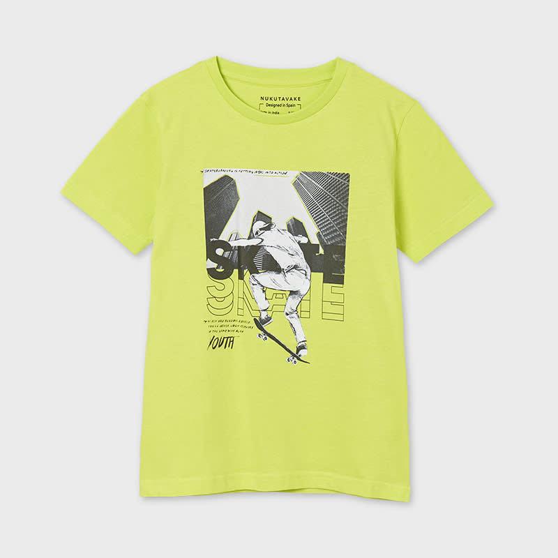 "Mayoral T-shirt ""skater"" - Pistache"