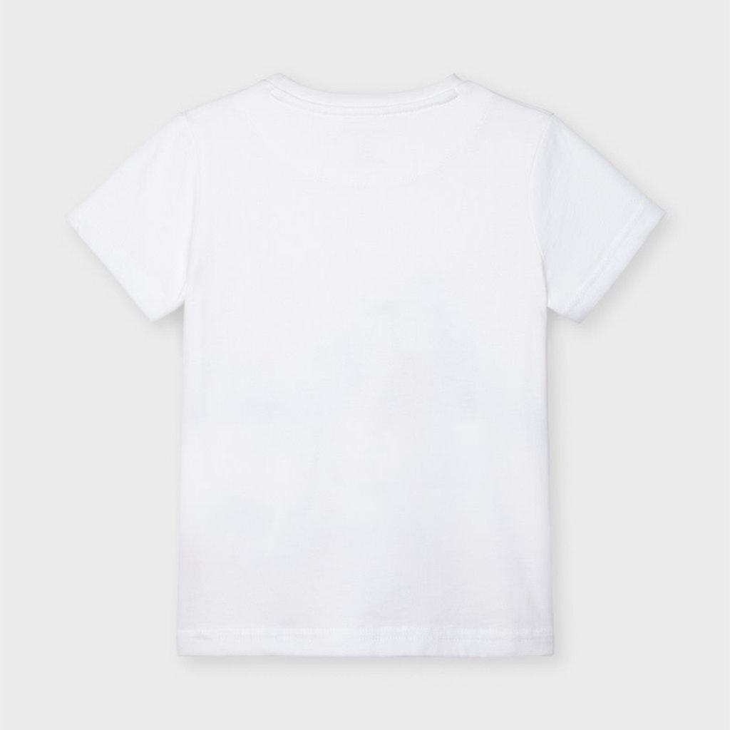 """Mayoral T-shirt """"skate"""" - Blanc"""