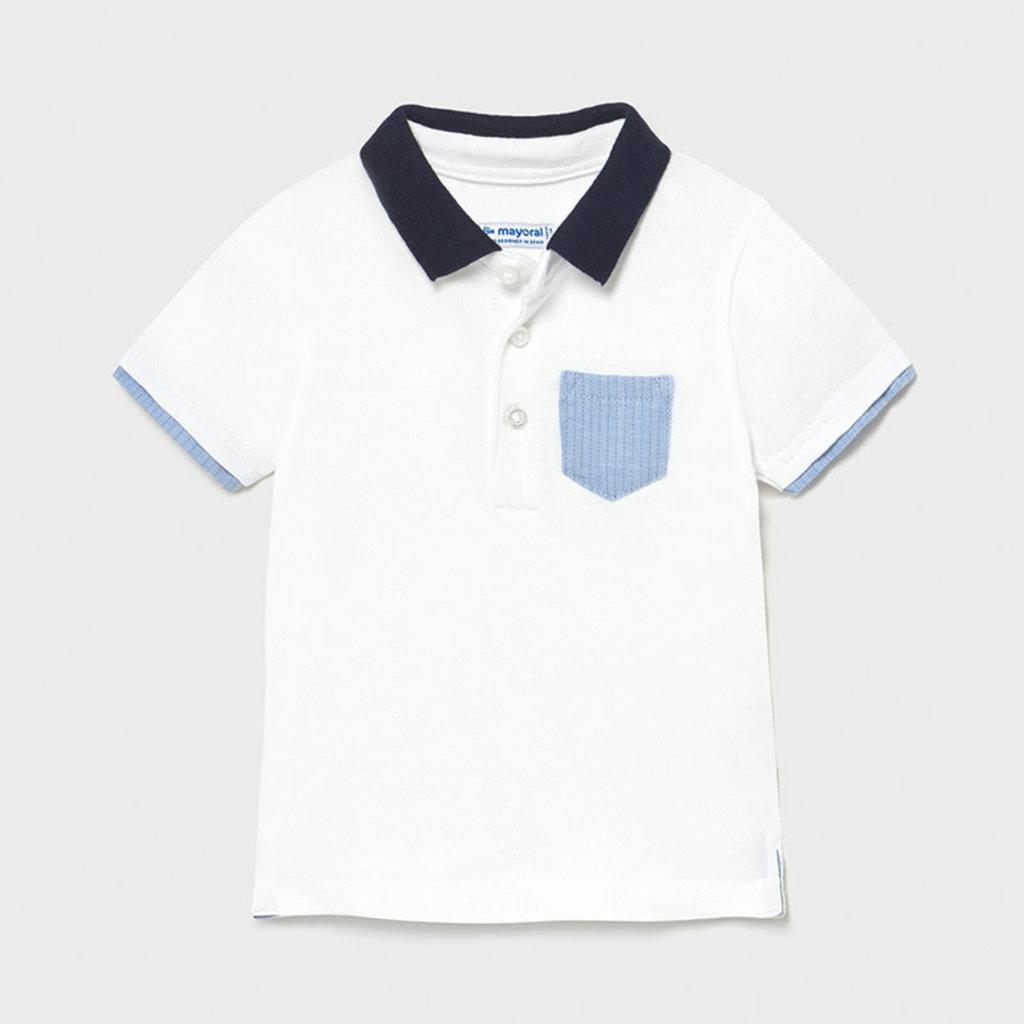 Mayoral Polo habillé - Blanc