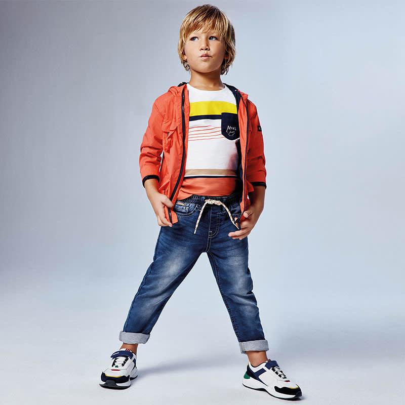 Mayoral Pantalon jeans jogger soft  - denim moyen