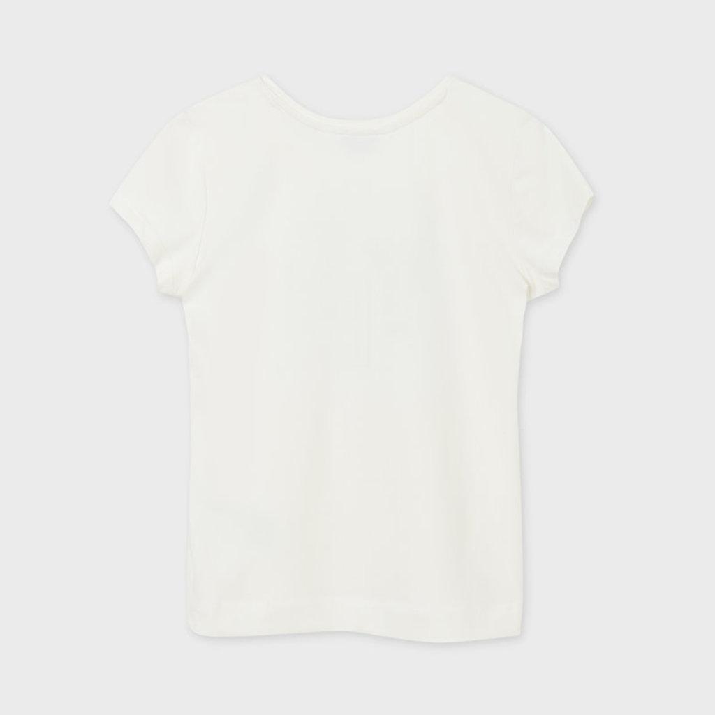 Mayoral T-shirt basic - Ecru