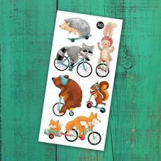 Pico Tattoo Tattoo - Promenade à vélo