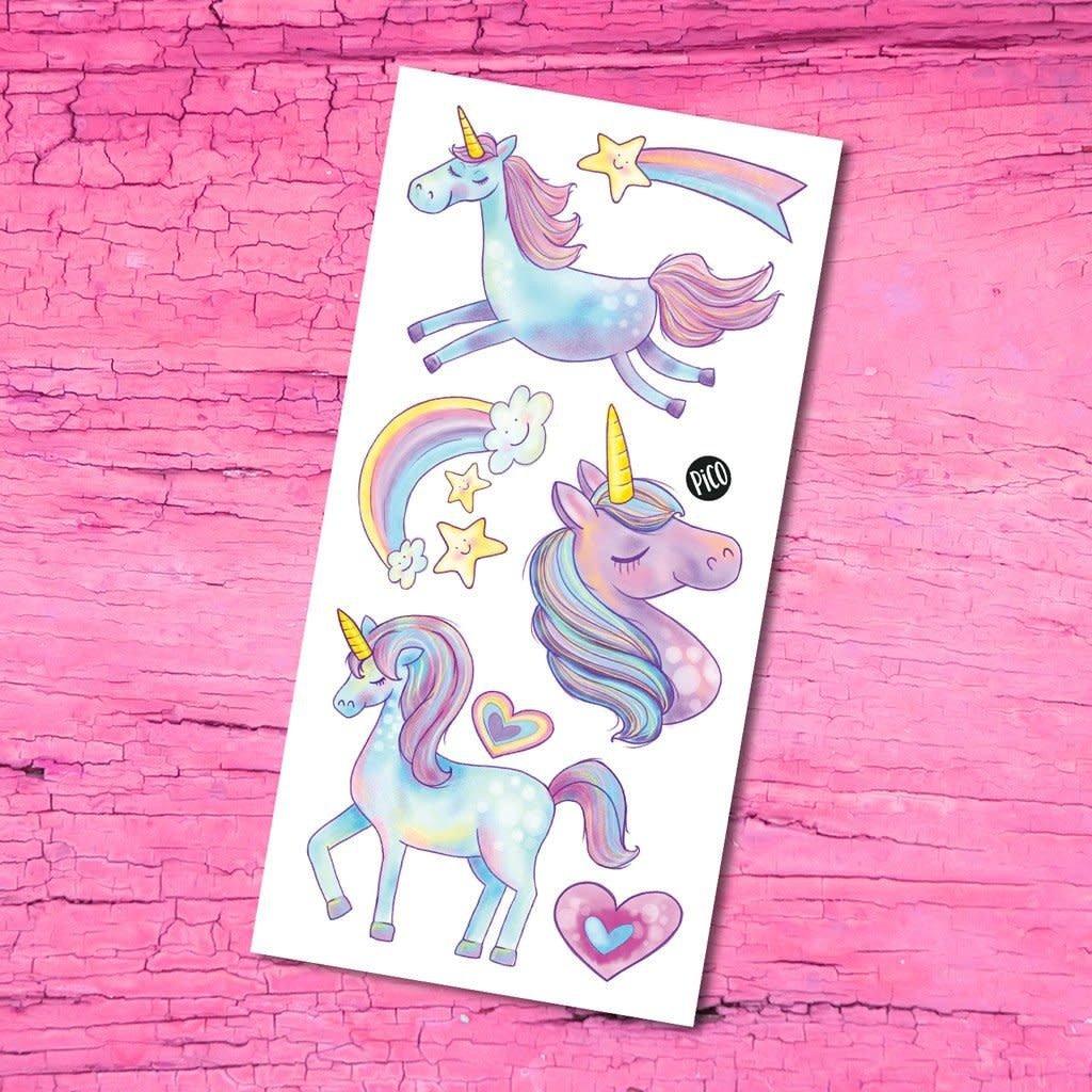 Pico Tattoo Tattoo - les mignonnes licornes