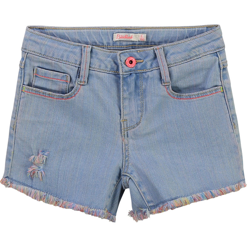 Billie Blush Short - Denim clair