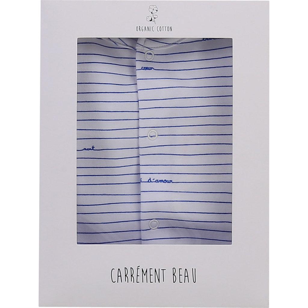 "Carrément Beau Pyjamas ""bebe d'amour"" - Blanc"