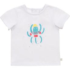 "Carrément Beau T-shirt ""Pieuvre"" - Blanc"