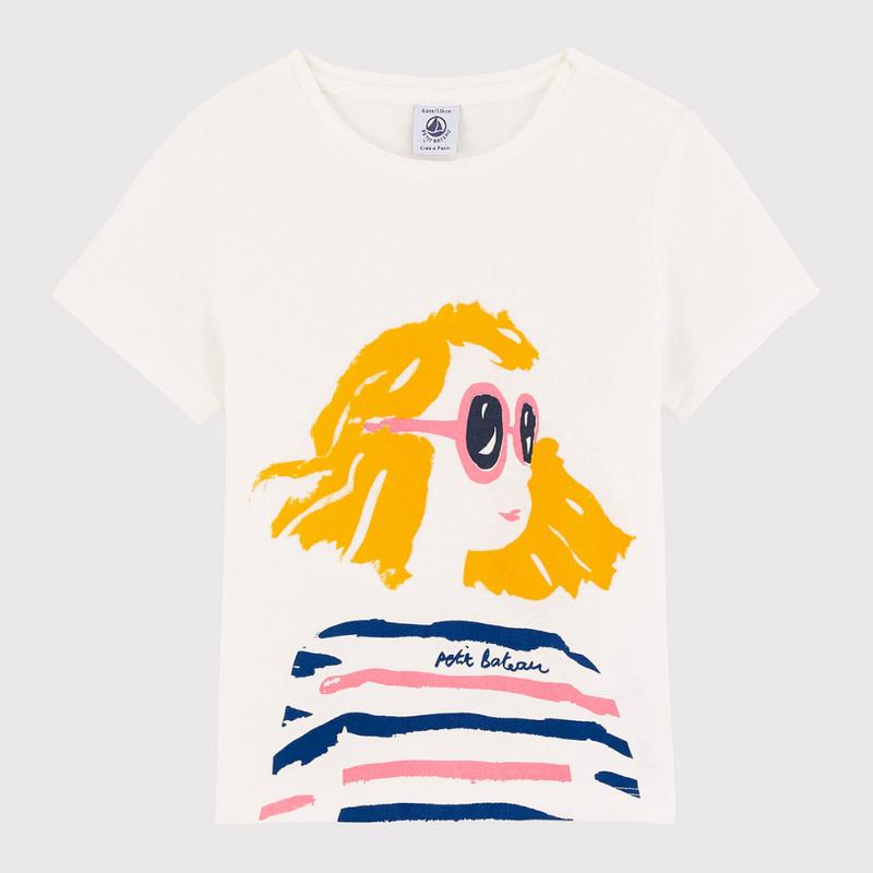 Petit Bateau Tshirt mara - blanc -