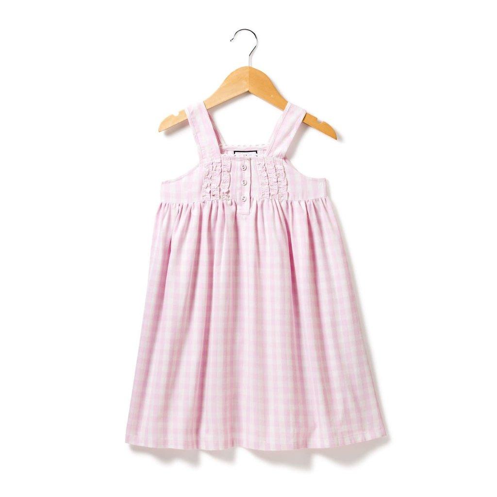 Petite Plume Robe de nuit Charlotte - pink gingham -