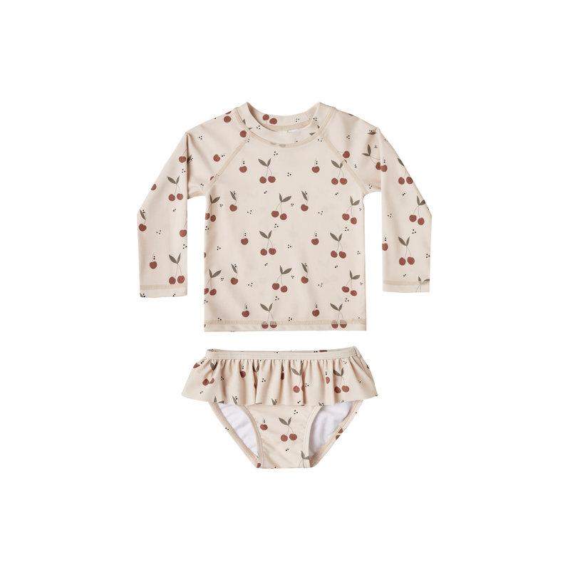Rylee & Cru Rasguard bébé fille - shell cherries -