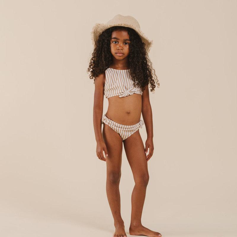 Rylee & Cru Bikini - almond stripe -