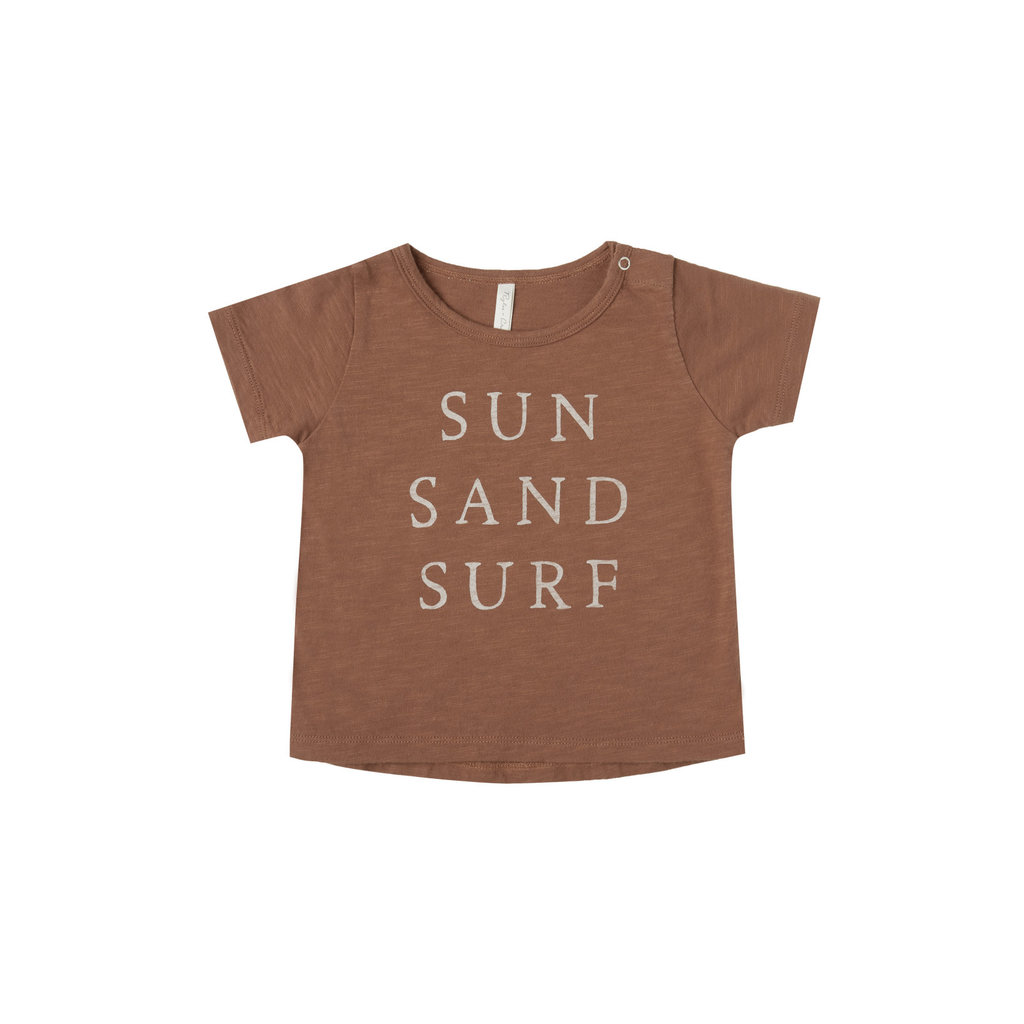 Rylee & Cru Tshirt bébé garçon sun sand surf - amber -