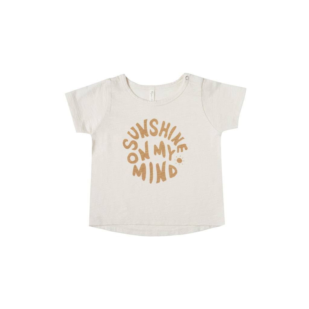 Rylee & Cru Tshirt bébé garçon sunshine - ivory -