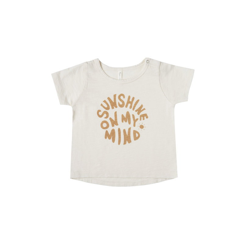 Rylee & Cru Tshirt garçon sunshine - ivory -