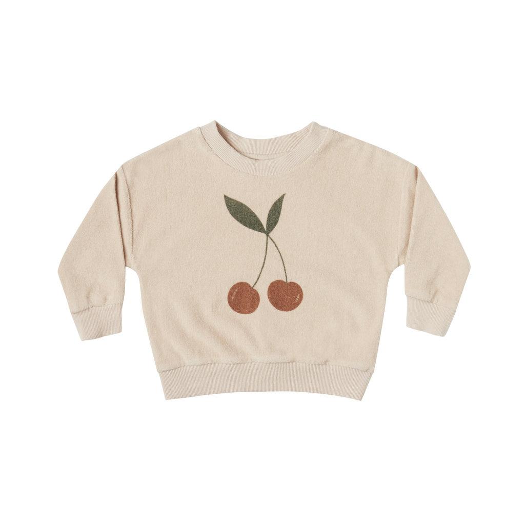 Rylee & Cru Fleece sweatshirt - shell cherries -