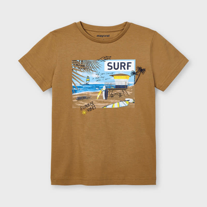 "Mayoral T-shirt ""surf"" plage"