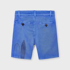 Mayoral Bermuda sérigraphie - Bleu ciel