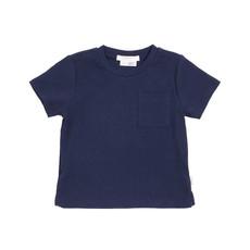 Petit Lem Tshirt tricot - marine -