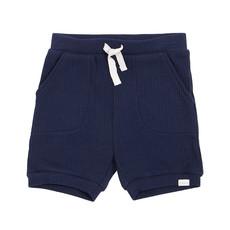 Petit Lem Short tricot - marine -