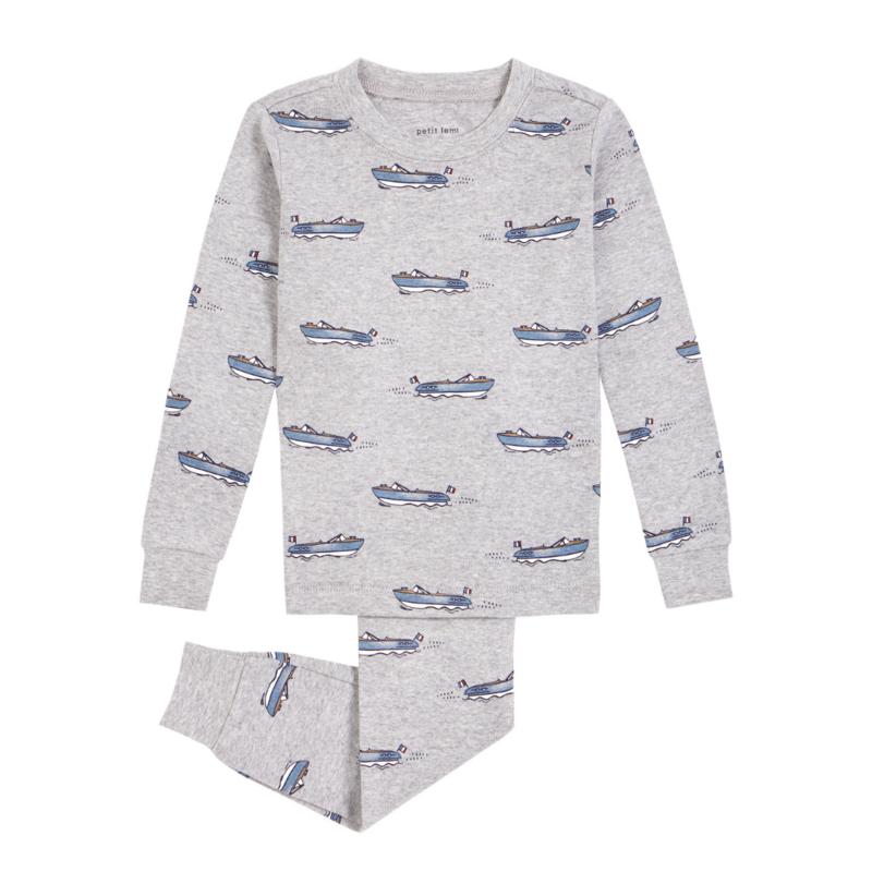 Petit Lem Pyjama 2 pièces - bateau -