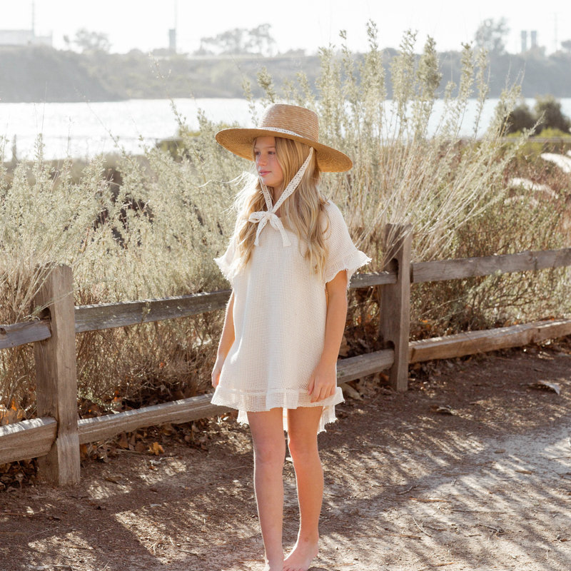 Rylee & Cru Par-dessus maillot crochet fille - shell -