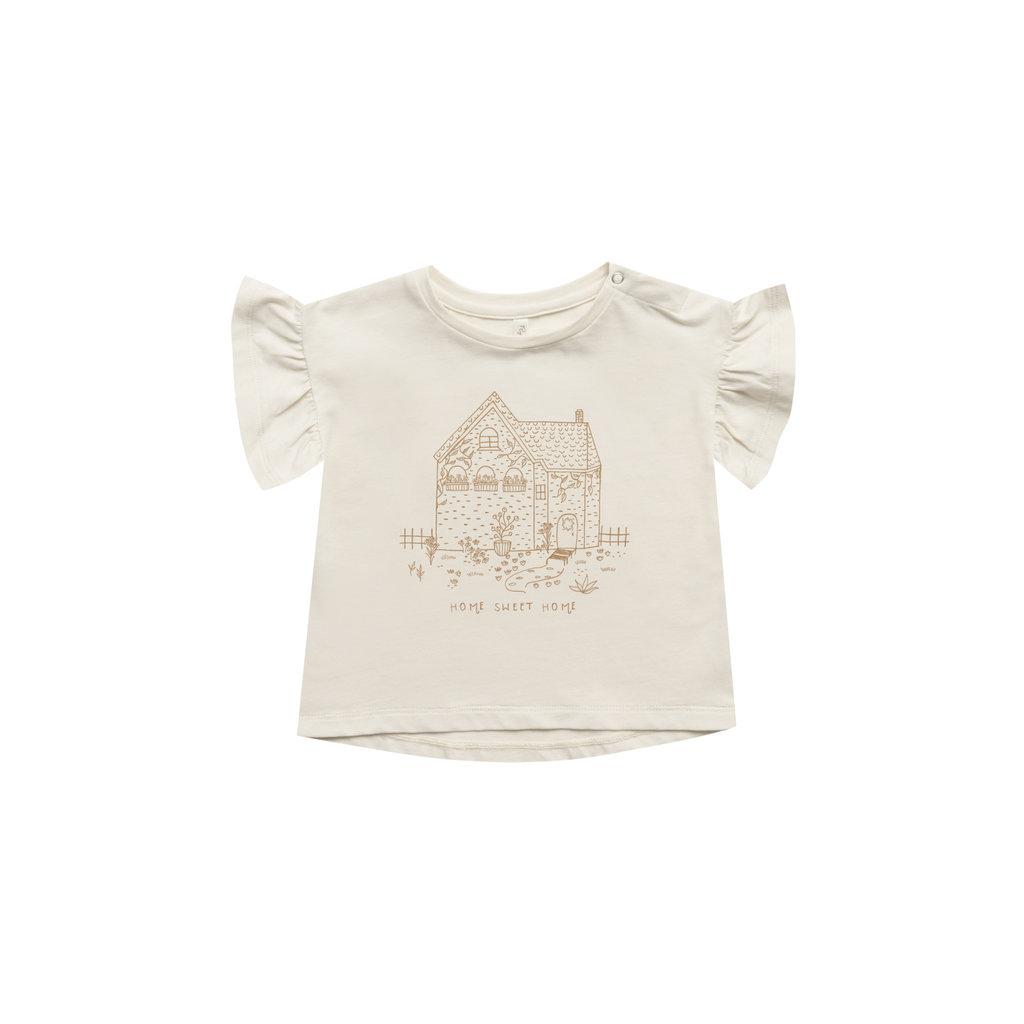 Rylee & Cru Tshirt home sweet home - natural -