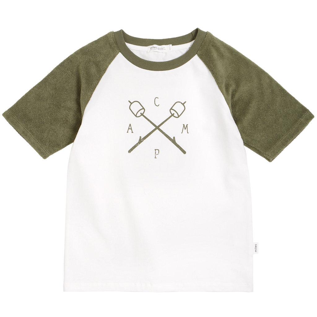 Miles Baby T-shirt - vert kaki -