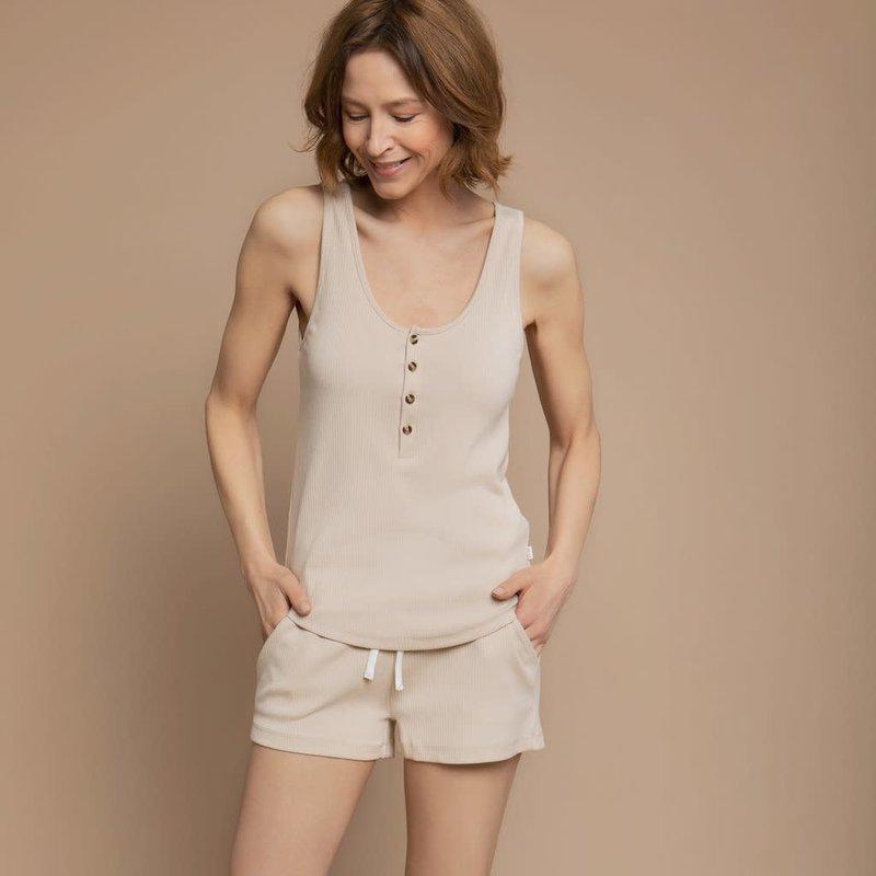 Petit Lem Camisole henley - beige  (adulte)
