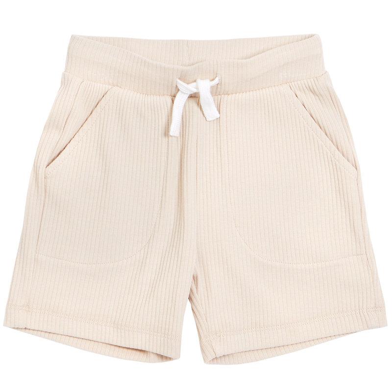 Petit Lem Short tricot - beige -