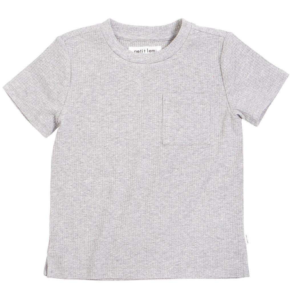 Petit Lem Chandail tricot - gris -