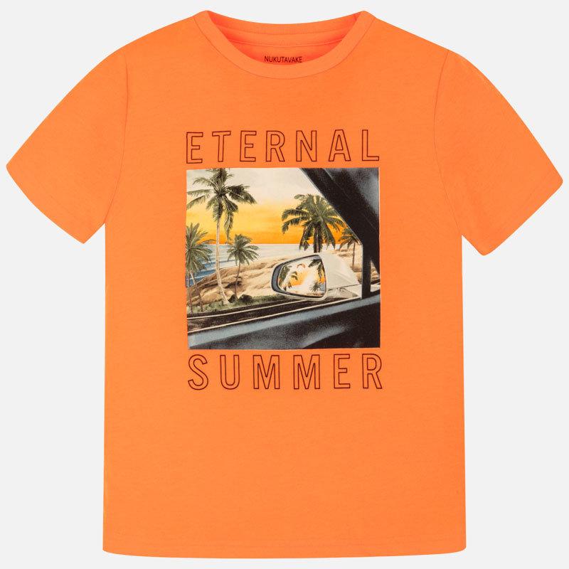 Mayoral Tshirt eternal summer - pomelo neon