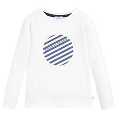 Carrément Beau T-shirt manche longue - offwhite