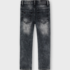 Mayoral Pantalon jeans soft denim - Gris