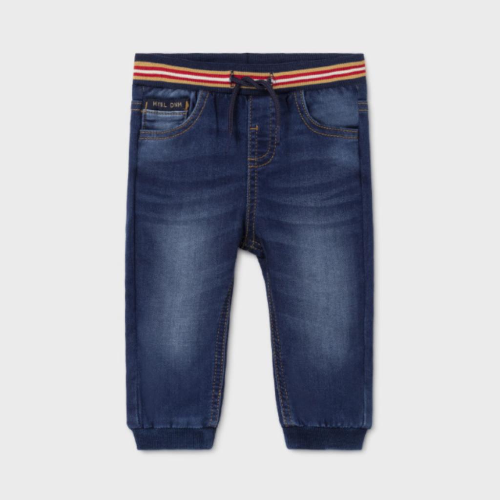 Mayoral Pantalon jogger soft jean - Foncé