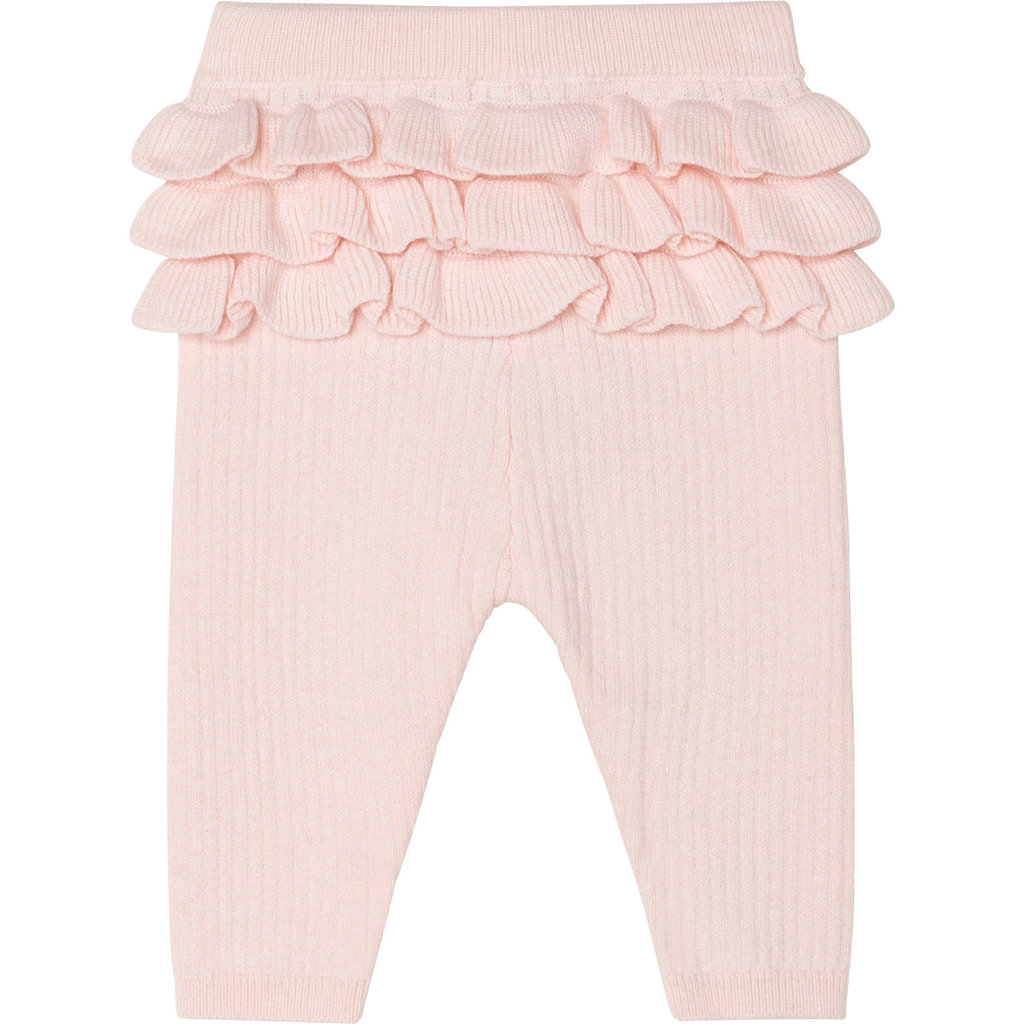 Carrément Beau Leggings tricot - Litchi