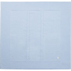 Carrément Beau Couverture tricot - Bleu