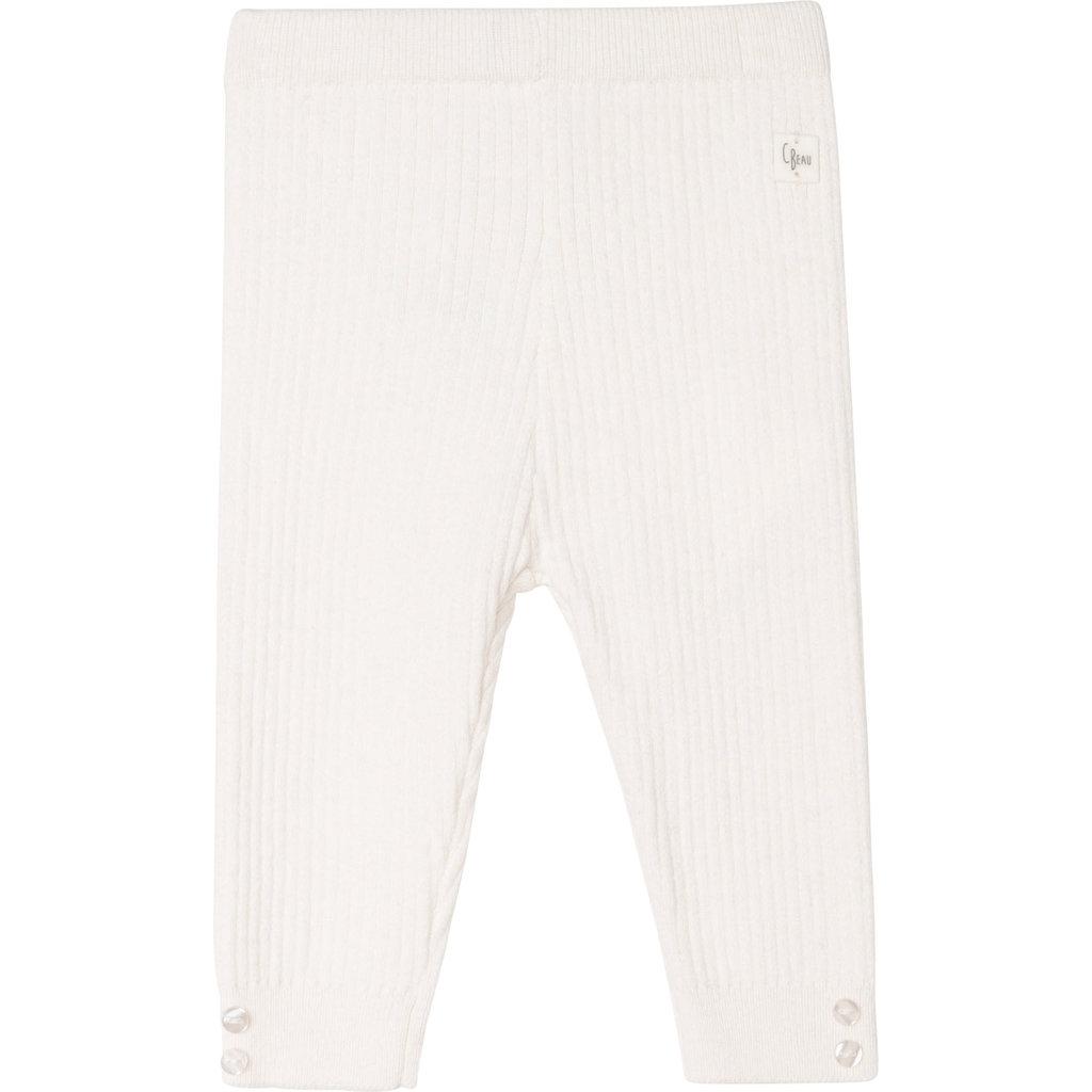 Carrément Beau Leggings tricot - offwhite
