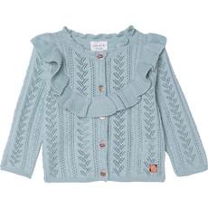 Carrément Beau Cardigan tricot - sea green -