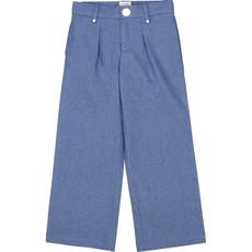 Carrément Beau Pantalon jambes larges - bleu -