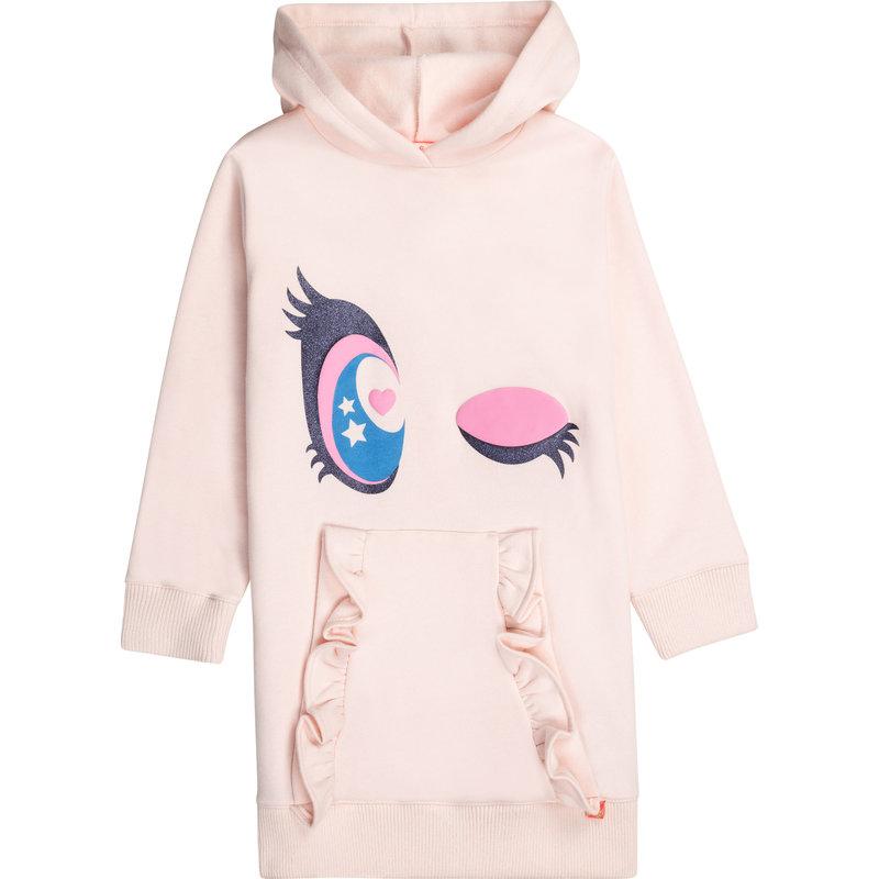 Billie Blush Hoodie dress - pink pale -
