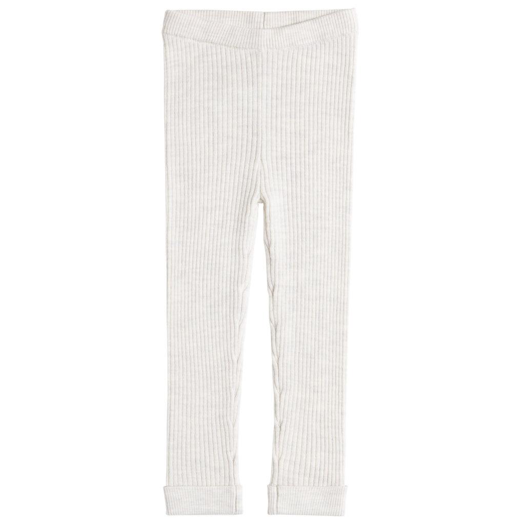 Miles Baby Leggings tricot - Beige