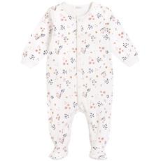 Petit Lem Pyjamas fleur - Offwhite