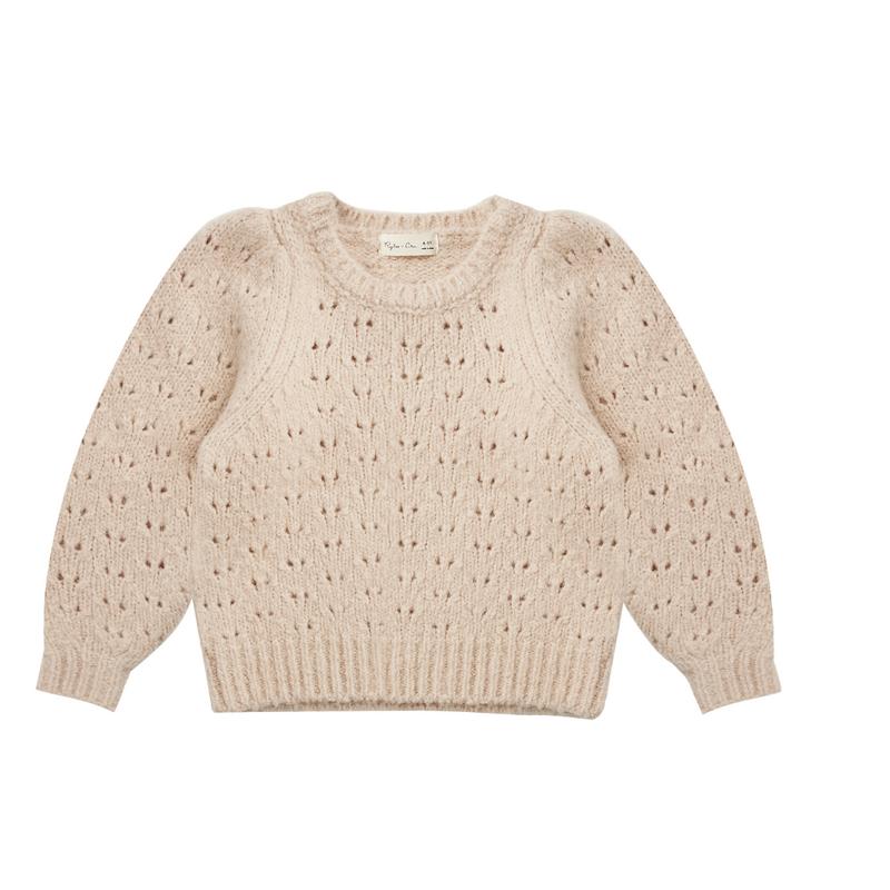 Rylee & Cru Balloon sweater - beige -