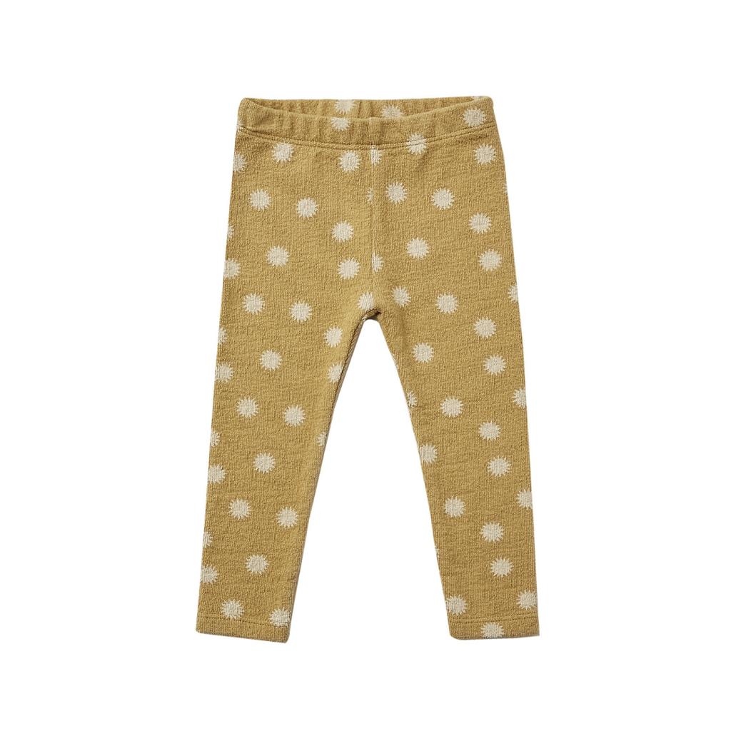 Rylee & Cru Knit legging - gold -