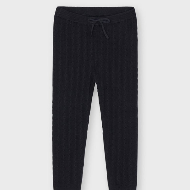 Mayoral Leggings maille tricot - Noir