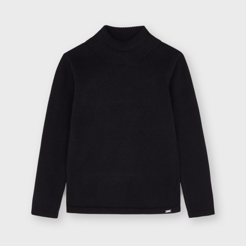 Mayoral Sous-pull tricot basic - Noir