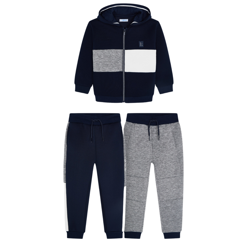Mayoral 3 pièces veste pantalons - Marine