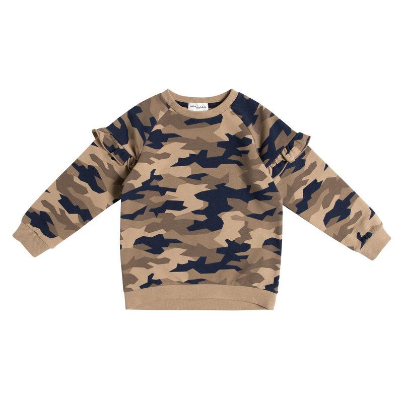 Miles The Label Pull à imprimé camouflage -