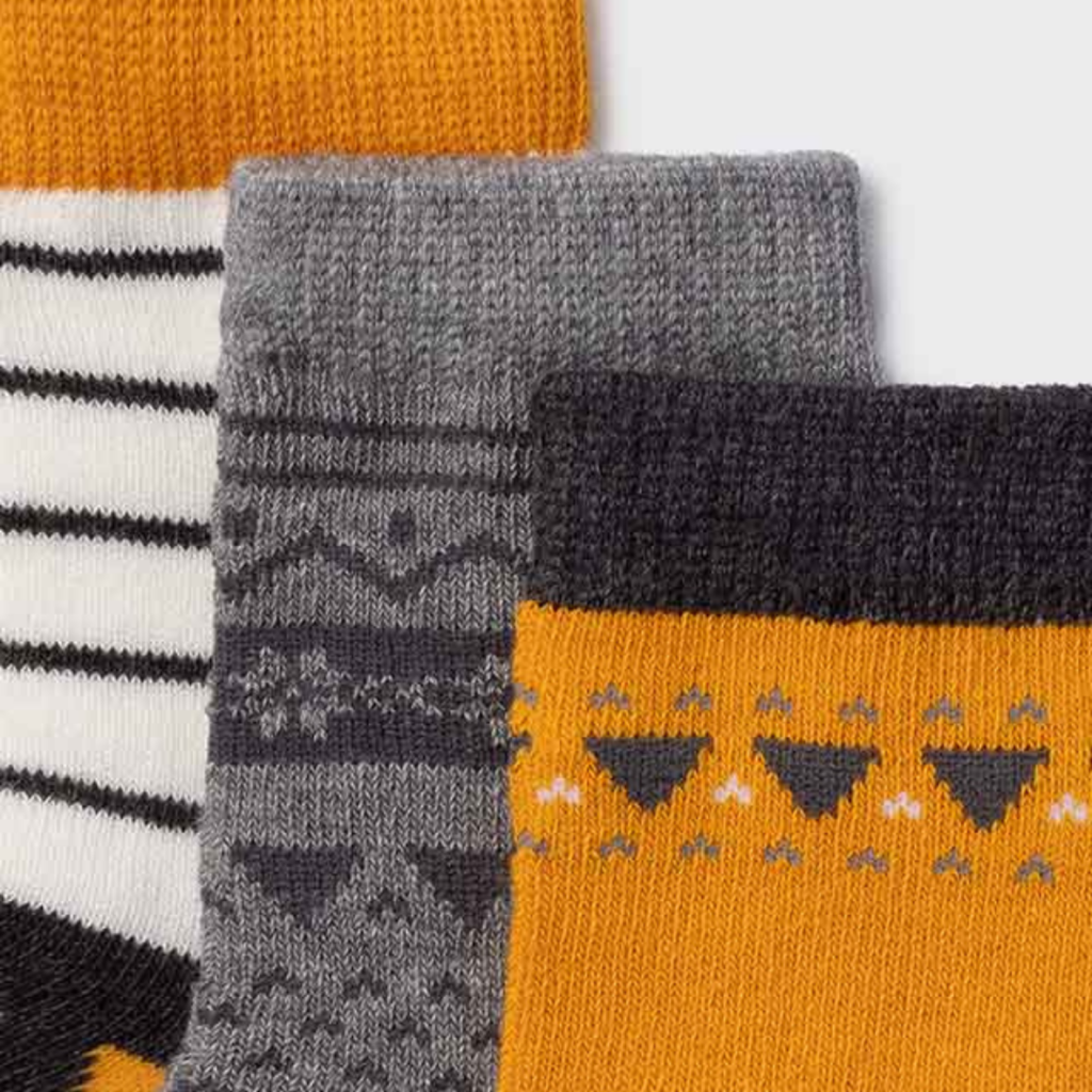 Mayoral Chaussettes (set 3) fox - Ocre